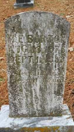 BURTON, M E - Union County, Louisiana | M E BURTON - Louisiana Gravestone Photos