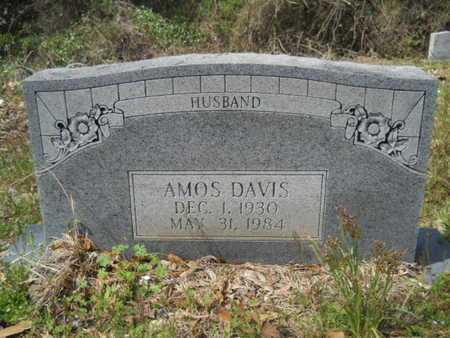 DAVIS, AMOS - Union County, Louisiana   AMOS DAVIS - Louisiana Gravestone Photos