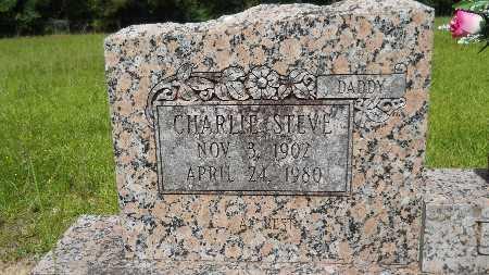 DAVIS, CHARLIE STEVE (CLOSE UP) - Union County, Louisiana | CHARLIE STEVE (CLOSE UP) DAVIS - Louisiana Gravestone Photos