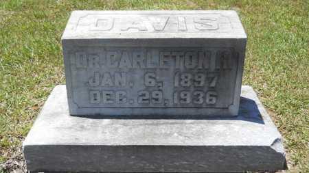 DAVIS, CARLETON H, DR - Union County, Louisiana | CARLETON H, DR DAVIS - Louisiana Gravestone Photos