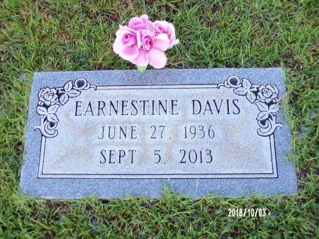DAVIS, EARNESTINE - Union County, Louisiana | EARNESTINE DAVIS - Louisiana Gravestone Photos