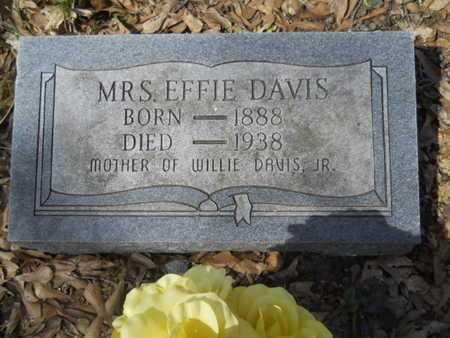 DAVIS, EFFIE - Union County, Louisiana | EFFIE DAVIS - Louisiana Gravestone Photos