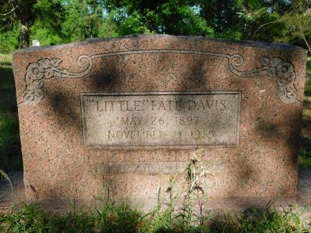 DAVIS, FATE - Union County, Louisiana | FATE DAVIS - Louisiana Gravestone Photos