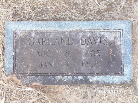 DAVIS, GARLAND - Union County, Louisiana | GARLAND DAVIS - Louisiana Gravestone Photos
