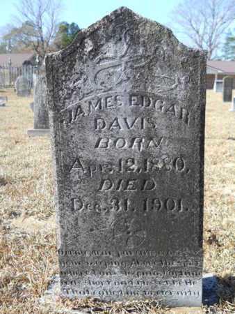 DAVIS, JAMES EDGAR - Union County, Louisiana | JAMES EDGAR DAVIS - Louisiana Gravestone Photos