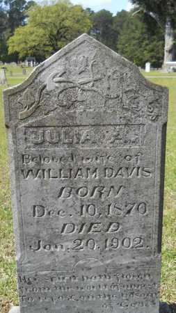 DAVIS, JULIA A - Union County, Louisiana | JULIA A DAVIS - Louisiana Gravestone Photos