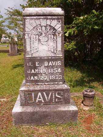 DAVIS, JAMES E - Union County, Louisiana | JAMES E DAVIS - Louisiana Gravestone Photos