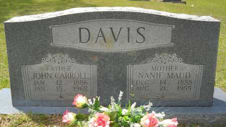 DAVIS, NANIE MAUD - Union County, Louisiana | NANIE MAUD DAVIS - Louisiana Gravestone Photos