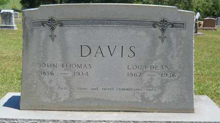 DAVIS, JOHN THOMAS - Union County, Louisiana | JOHN THOMAS DAVIS - Louisiana Gravestone Photos