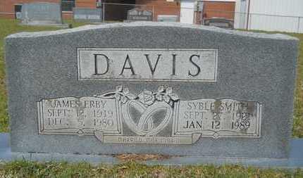 DAVIS, SYBLE - Union County, Louisiana | SYBLE DAVIS - Louisiana Gravestone Photos