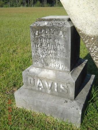 DAVIS, MARY A - Union County, Louisiana | MARY A DAVIS - Louisiana Gravestone Photos