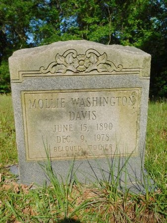 DAVIS, MOLLIE - Union County, Louisiana | MOLLIE DAVIS - Louisiana Gravestone Photos
