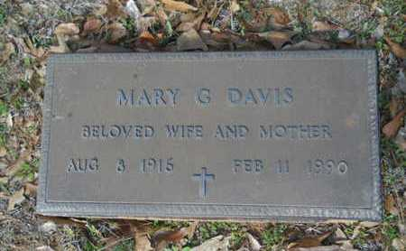 DAVIS, MARY G - Union County, Louisiana | MARY G DAVIS - Louisiana Gravestone Photos