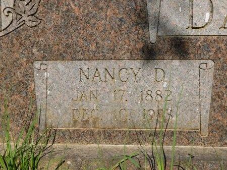 DAVIS, NANCY D (CLOSE UP) - Union County, Louisiana   NANCY D (CLOSE UP) DAVIS - Louisiana Gravestone Photos