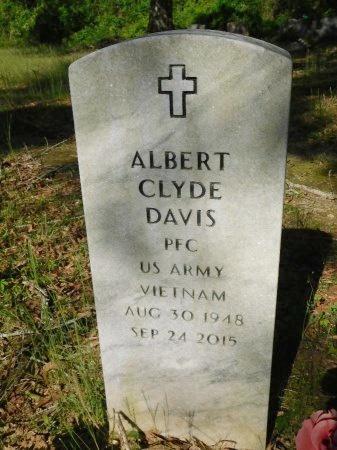 DAVIS, ALBERT CLYDE (VETERAN VIET) - Union County, Louisiana   ALBERT CLYDE (VETERAN VIET) DAVIS - Louisiana Gravestone Photos