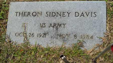 DAVIS, THERON SIDNEY (VETERAN) - Union County, Louisiana | THERON SIDNEY (VETERAN) DAVIS - Louisiana Gravestone Photos