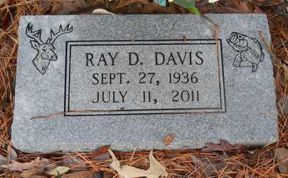 DAVIS, RAY D - Union County, Louisiana   RAY D DAVIS - Louisiana Gravestone Photos
