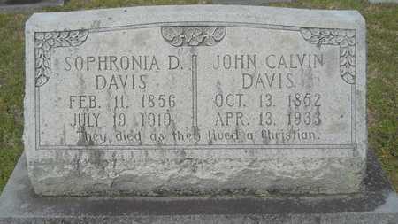 DAVIS, JOHN CALVIN - Union County, Louisiana | JOHN CALVIN DAVIS - Louisiana Gravestone Photos