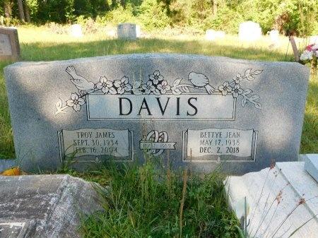 DAVIS, BETTYE JEAN - Union County, Louisiana | BETTYE JEAN DAVIS - Louisiana Gravestone Photos