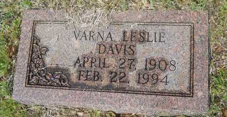 DAVIS, VARNA LESLIE - Union County, Louisiana | VARNA LESLIE DAVIS - Louisiana Gravestone Photos