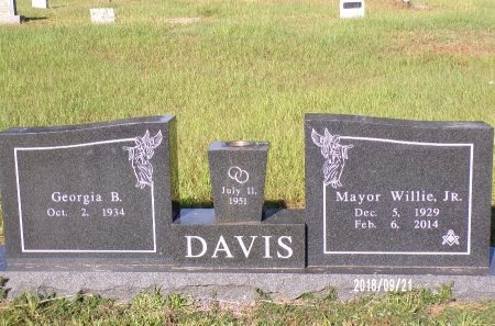 DAVIS, WILLIE JR, MAYOR - Union County, Louisiana | WILLIE JR, MAYOR DAVIS - Louisiana Gravestone Photos