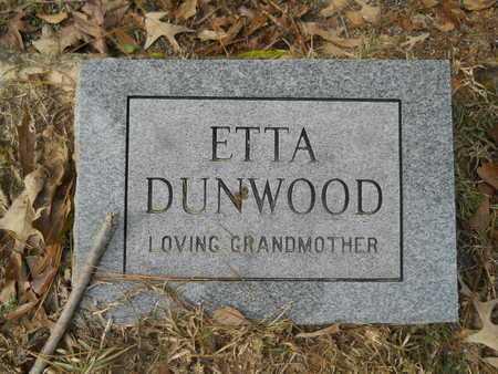 DUNWOOD, ETTA - Union County, Louisiana | ETTA DUNWOOD - Louisiana Gravestone Photos
