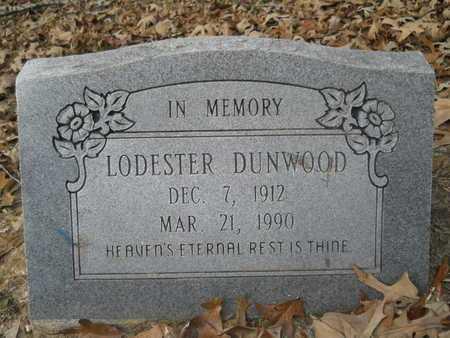DUNWOOD, LODESTER - Union County, Louisiana | LODESTER DUNWOOD - Louisiana Gravestone Photos