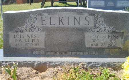 WEST ELKINS, LOIS - Union County, Louisiana | LOIS WEST ELKINS - Louisiana Gravestone Photos