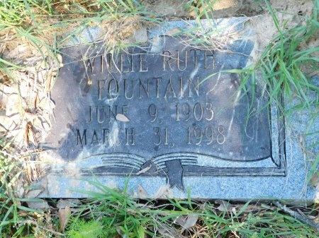 FOUNTAIN, WILLIE RUTH - Union County, Louisiana   WILLIE RUTH FOUNTAIN - Louisiana Gravestone Photos
