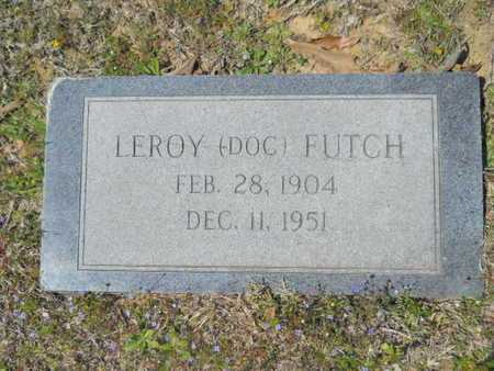 "FUTCH, LEROY ""DOC"" - Union County, Louisiana 
