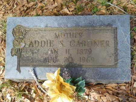 GARDNER, ADDIE S - Union County, Louisiana | ADDIE S GARDNER - Louisiana Gravestone Photos