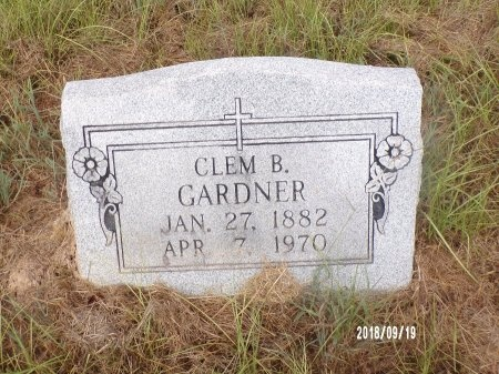 "GARDNER, CLEMENTINE ""CLEM"" - Union County, Louisiana 
