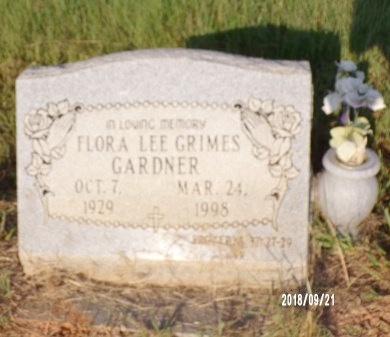 GARDNER, FLORA LEE - Union County, Louisiana   FLORA LEE GARDNER - Louisiana Gravestone Photos