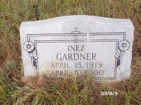 GARDNER, INEZ - Union County, Louisiana   INEZ GARDNER - Louisiana Gravestone Photos