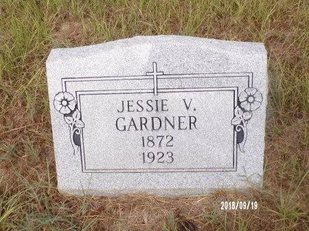 GARDNER, JESSIE V - Union County, Louisiana | JESSIE V GARDNER - Louisiana Gravestone Photos
