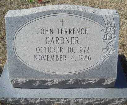 GARDNER, JOHN TERRENCE - Union County, Louisiana | JOHN TERRENCE GARDNER - Louisiana Gravestone Photos