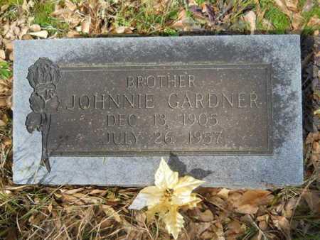 GARDNER, JOHNNIE - Union County, Louisiana | JOHNNIE GARDNER - Louisiana Gravestone Photos