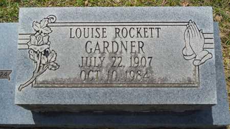 GARDNER, LOUISE (CLOSE UP) - Union County, Louisiana | LOUISE (CLOSE UP) GARDNER - Louisiana Gravestone Photos