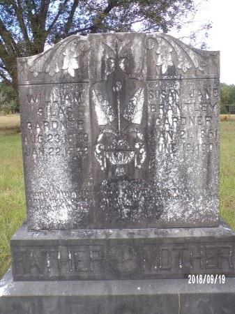 GARDNER, WILLIAM SILAS - Union County, Louisiana | WILLIAM SILAS GARDNER - Louisiana Gravestone Photos