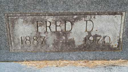 GULLEY, FRED D (CLOSE UP) - Union County, Louisiana | FRED D (CLOSE UP) GULLEY - Louisiana Gravestone Photos