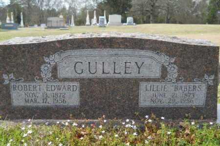 BABERS GULLEY, LILLIE - Union County, Louisiana   LILLIE BABERS GULLEY - Louisiana Gravestone Photos