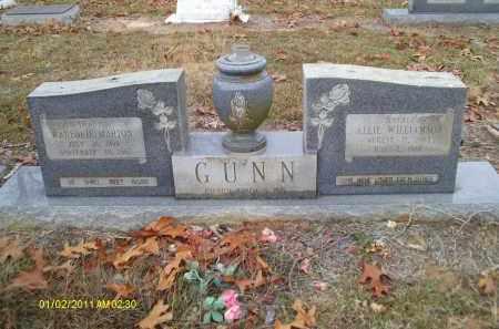 WILLIAMSON GUNN, ALLIE - Union County, Louisiana | ALLIE WILLIAMSON GUNN - Louisiana Gravestone Photos