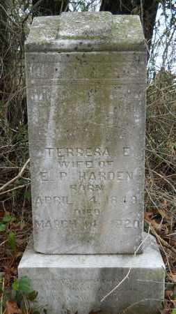 HARDEN, TERRESA E - Union County, Louisiana | TERRESA E HARDEN - Louisiana Gravestone Photos