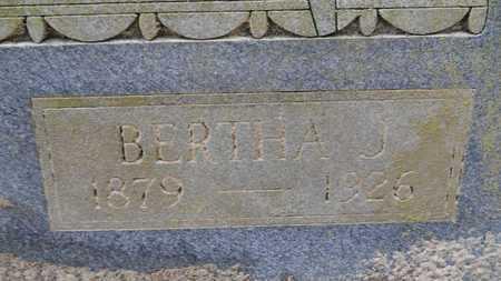 HENDERSON, BERTHA J (CLOSE UP) - Union County, Louisiana | BERTHA J (CLOSE UP) HENDERSON - Louisiana Gravestone Photos