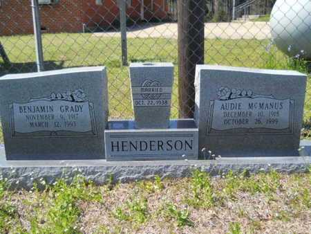 MCMANUS HENDERSON, AUDIE - Union County, Louisiana | AUDIE MCMANUS HENDERSON - Louisiana Gravestone Photos