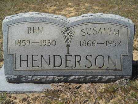 HENDERSON, SUSANNA - Union County, Louisiana | SUSANNA HENDERSON - Louisiana Gravestone Photos