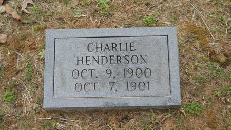 HENDERSON, CHARLIE - Union County, Louisiana | CHARLIE HENDERSON - Louisiana Gravestone Photos