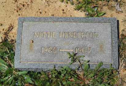 HENDERSON, NETTIE - Union County, Louisiana | NETTIE HENDERSON - Louisiana Gravestone Photos