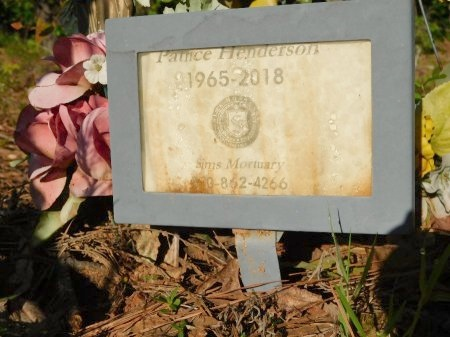 HENDERSON, PATRICE - Union County, Louisiana | PATRICE HENDERSON - Louisiana Gravestone Photos