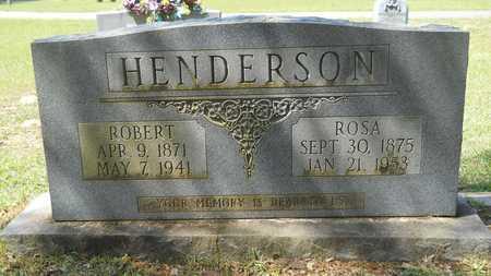 HENDERSON, ROBERT - Union County, Louisiana | ROBERT HENDERSON - Louisiana Gravestone Photos
